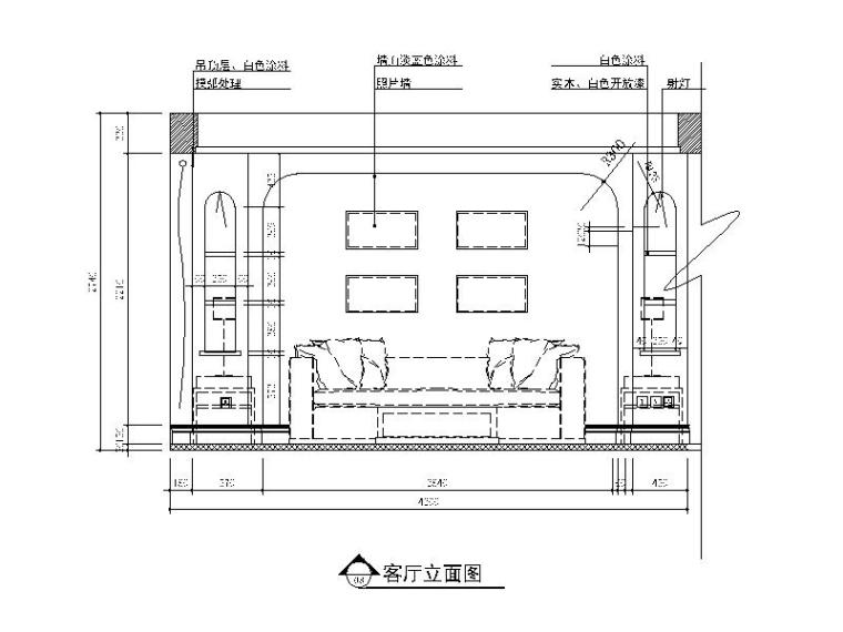 【江苏】地中海风格样板房设计CAD施工图(含效果图)_6