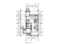 旅游度假区欧式风格别墅样板房设计CAD施工图(含效果图)