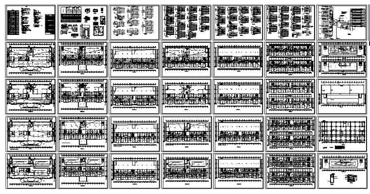 某四星级酒店全套电气设计方案(36张)