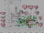 [知名大院]地铁车站综合管线施工图设计190张CAD(含10个车站综合管线设计)