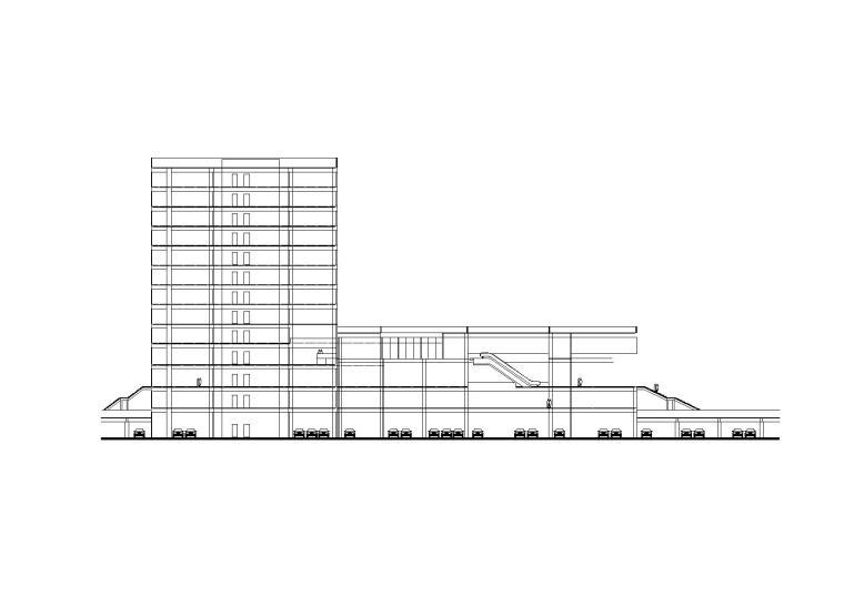 [青海]省级档案馆设计施工图CAD图纸(内含水暖电全套图纸)