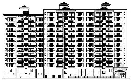 深圳某小区住宅群建筑施工图