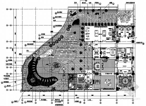 [重庆]集团公司屋顶花园园林景观工程施工图