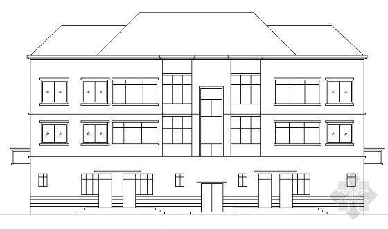 三层住宅楼(底层商业)设计