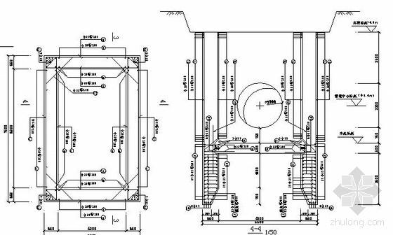 [浙江]某水厂输水管道工程顶管修改施工图