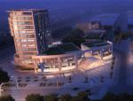 商业鸟瞰建筑3D模型下载