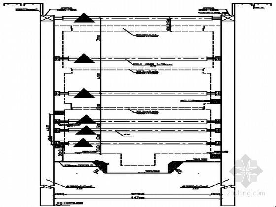 [陕西]地铁车站深基坑钢支撑及施加轴力施工技术交底