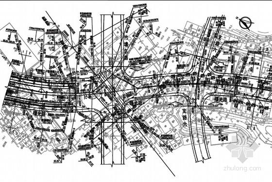 [湖南]市政道路排水工程设计图纸33张(含管道 管线综合 地道消防)
