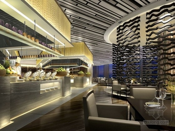 [广东]某品牌五星级酒店室内设计概念方案