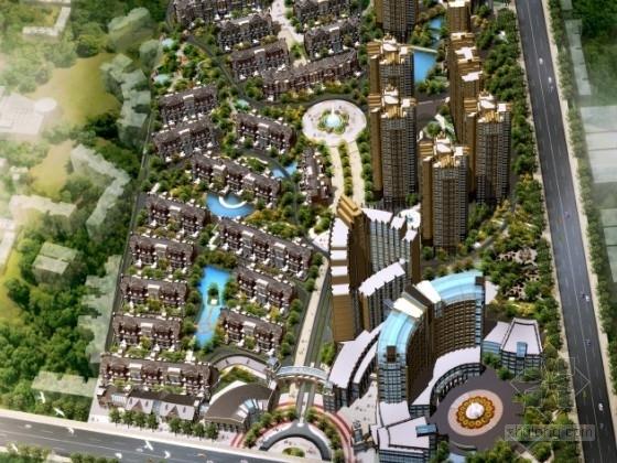 [重庆]某住宅小区规划及单体设计方案文本