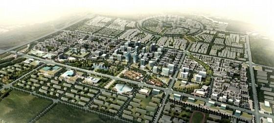 [河北]现代风格工业园区规划及单体设计方案文本