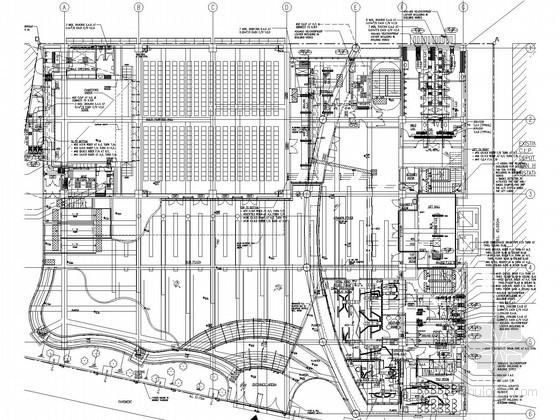 VAV空调系统设计说明资料下载-国外某项目VAV空调系统设计图纸