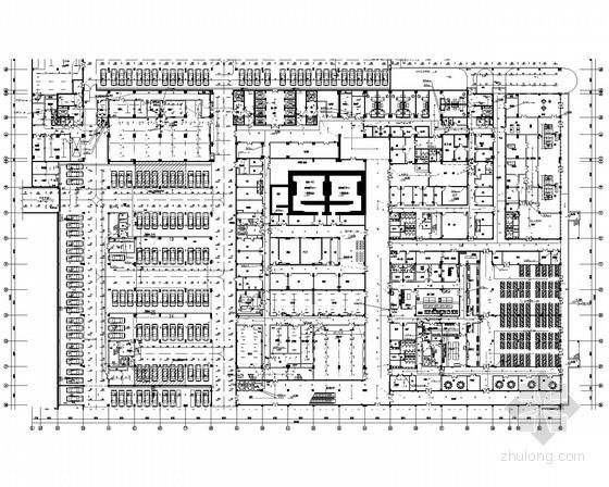[湖南]医院综合楼全套电气施工图纸157张(含变配电系统)
