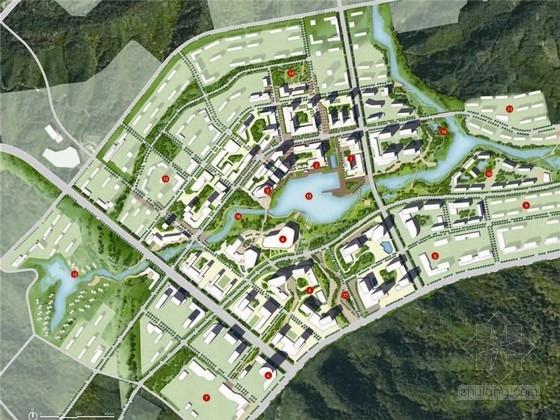 [四川]特色水岸商贸知名地产景观规划设计方案