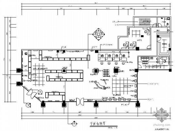 中国移动通信集团四川某营业厅施工图(装饰+水电+效果图)