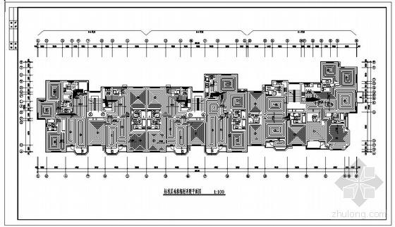 七层住宅楼水暖施工图