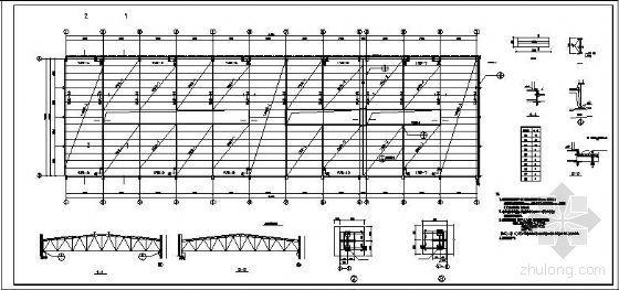 [学士]某梯形钢屋架设计