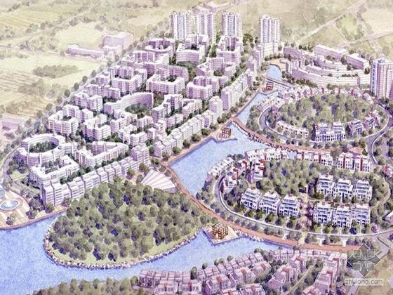 [佛山]某知名设计院山水家园住宅小区概念方案