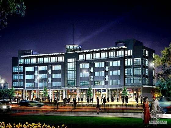 [盐城]某五层公寓酒店设计方案
