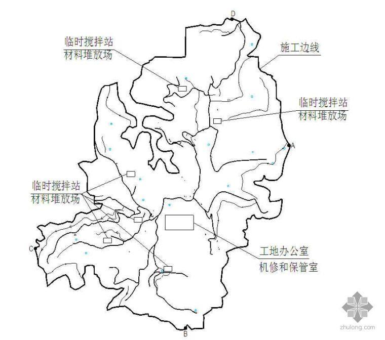重庆市某土地整理项目施工方案及爆破方法