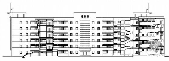 [江苏]某医学院教学大楼建筑施工图