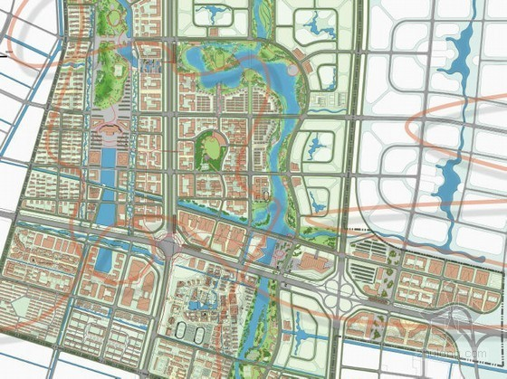 南通濠河区域城市规划资料下载-[南通]区域核心景观总体规划