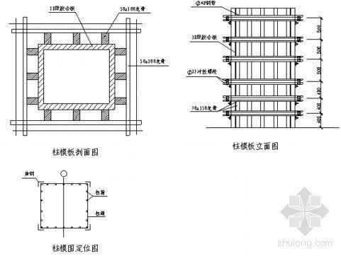 福建某住宅小区模板施工方案(胶合板)