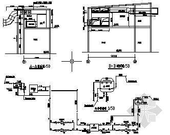 某展厅空调系统平面图