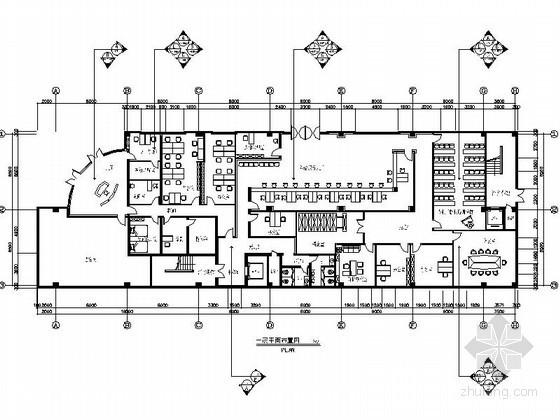 [南京]城市管理局办公综合楼室内施工图