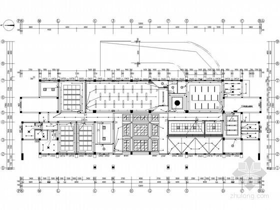 [重庆]办公楼室内装饰全套水电施工图纸42张