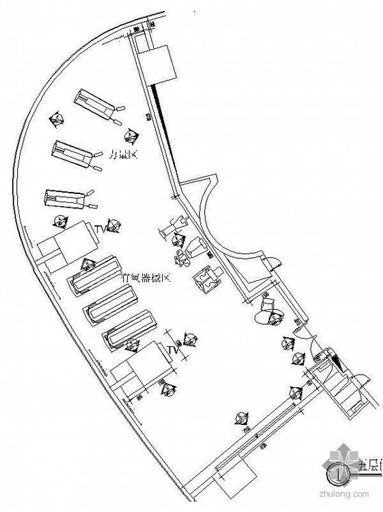 小型健身房室内设计图