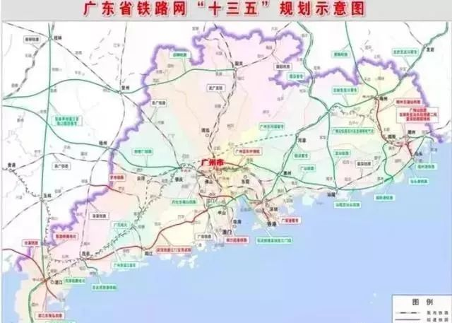 中国第一条运营时速600公里的高铁,广深第二高铁将开建