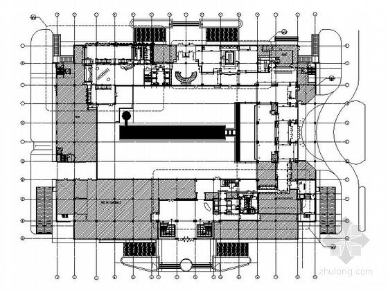 [南京]豪华白金五星级酒店设计装修图
