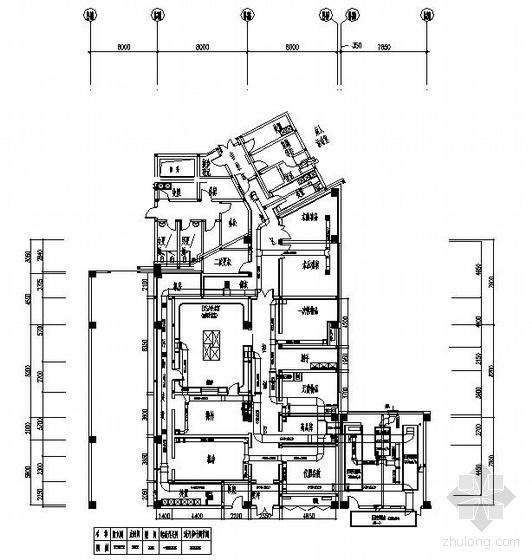 郑州某医院洁净室空调图