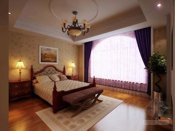 温馨卧室3D模型下载