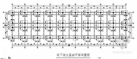 六层框架结构学生宿舍施工图(原创)
