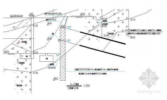 [广东]安置房深基坑支护施工方案(人工挖孔桩 预应力锚索)