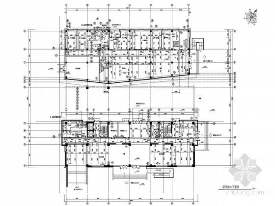 高层综合办公大楼给排水及消防施工图