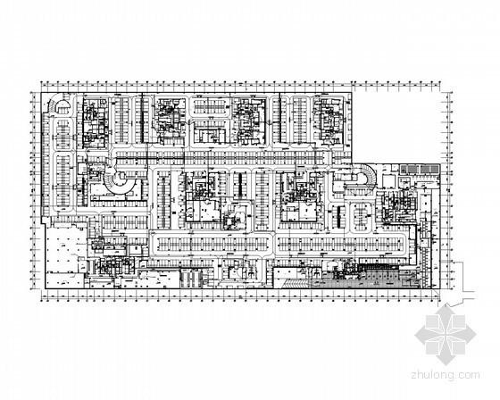 [辽宁]大型知名广场全套智能化弱电施工图纸 (23万平、地下3层)
