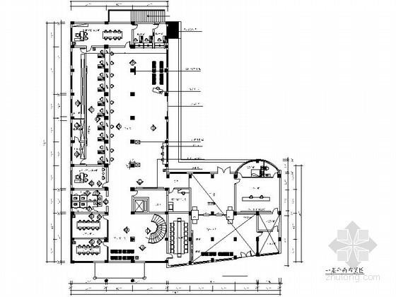 [浙江]某人民法院立案办公楼室内装饰图