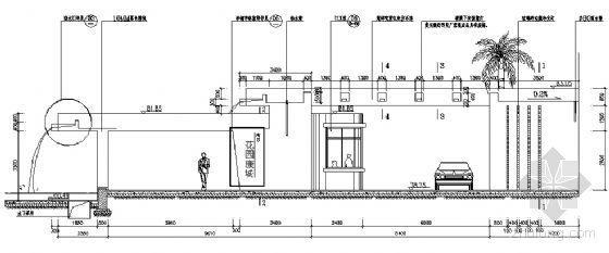 落水廊节点详图