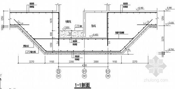 筏板基础节点构造详图