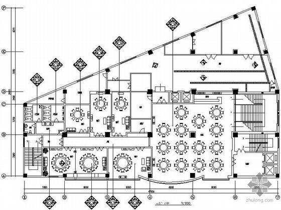 580平米中餐厅装修图(含效果)