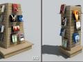 27套书架书籍书桌3dmax单体模型(附高清模型贴图)