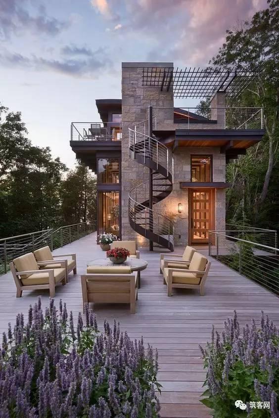 40款·简洁的现代别墅设计_11