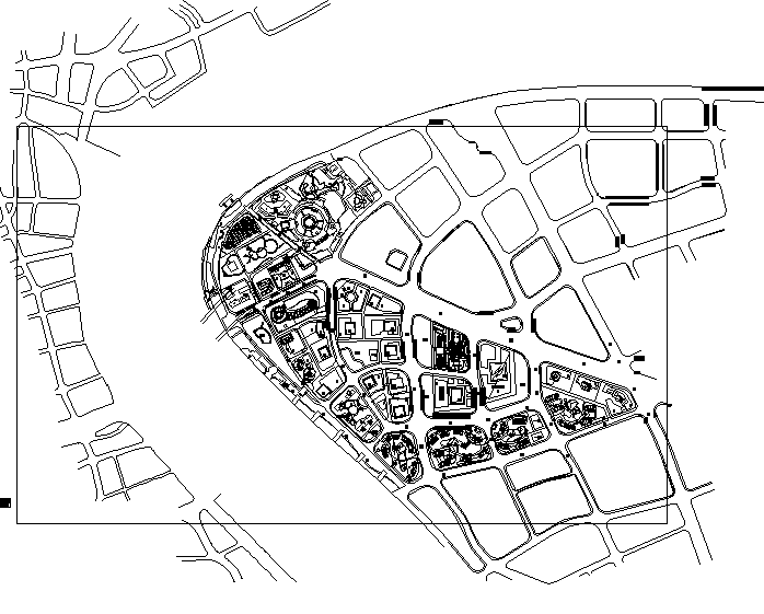 陆家嘴中心规划方案归档(全套施工图)