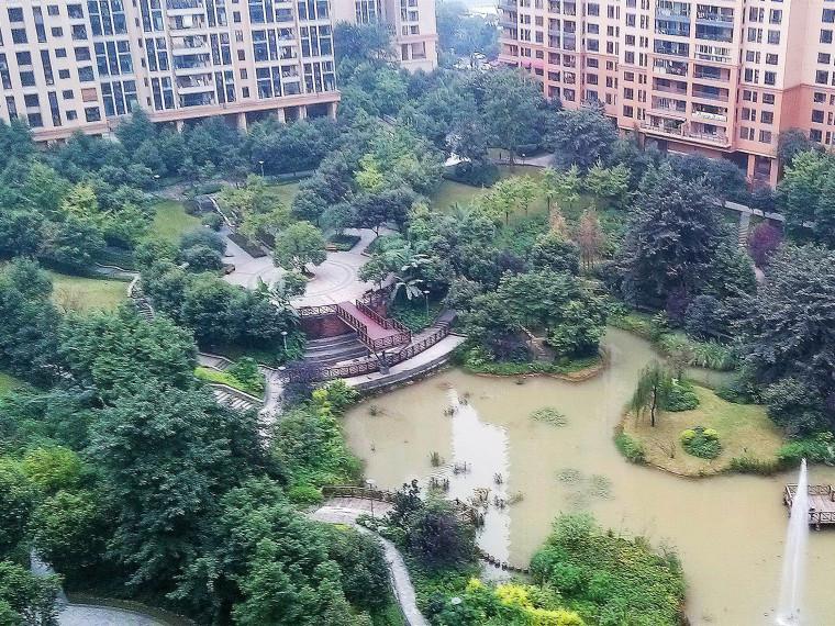 重庆招商江湾城住宅景观