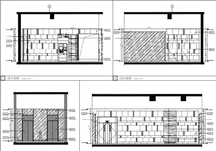 [福州]三层现代风格中心商场施工图(含效果图+SU模型)_2