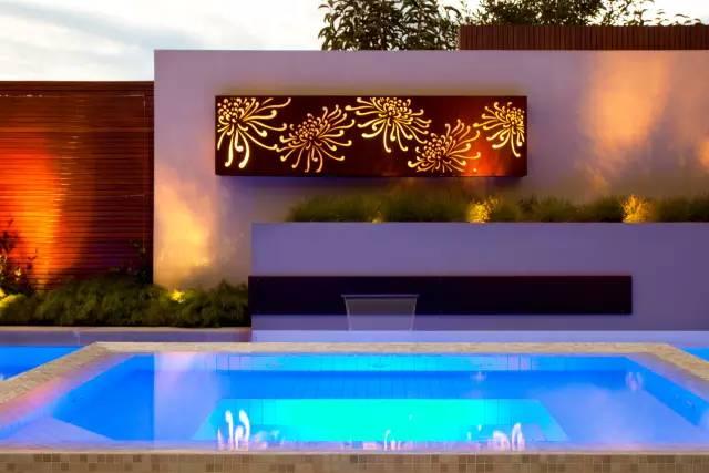 赶紧收藏!21个最美现代风格庭院设计案例_77