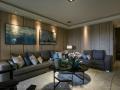 家庭装修设计案例:三室两厅新古典风